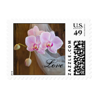 Rustic Elegance Love Country Wedding Postage Stamp