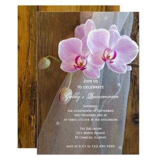 Rustic Elegance Quinceanera Party Invitation