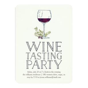 Wine Tasting Invitations Zazzle