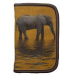 Rustic Elephant Artwork, African Animals, Wildlife Organizers