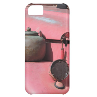 Rustic faded red land rover African safari jeep iPhone 5C Case