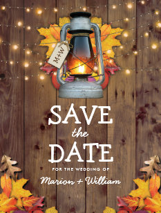 autumn save the dates gifts on zazzle