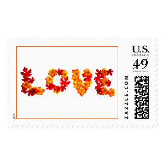 Rustic Fall Weddings Love Save The Date Postage