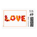 Rustic Fall Weddings Love Save The Date Stamp