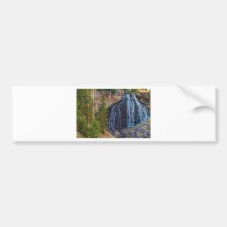 Rustic Falls Bumper Sticker