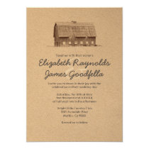 Rustic Farm Wedding Invitations