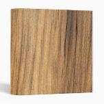 Rustic Faux Barn Wood Binder