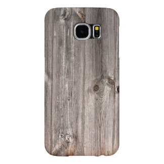 Rustic Faux Wood Texture Samsung Galaxy S6 Cases