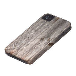 Rustic Faux Wood Texture Case-Mate iPhone 4 Case