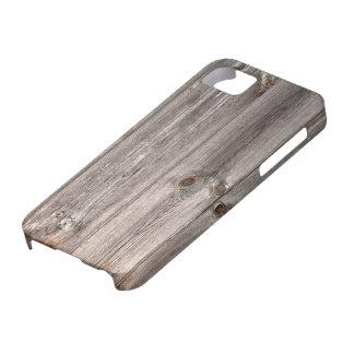 Rustic Faux Wood Texture iPhone SE/5/5s Case