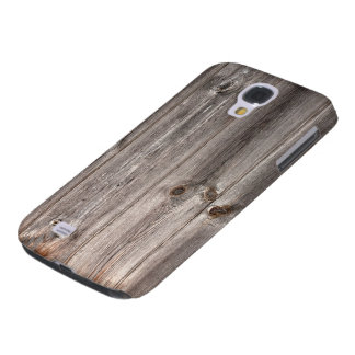 Rustic Faux Wood Texture Samsung Galaxy S4 Cover