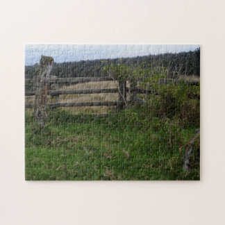 Rustic Fence Jigsaw Puzzle