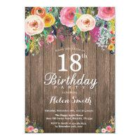 10 Handmade Personalised Birthday Invitations 18th 21st 30th 40th 50th 60th 70th