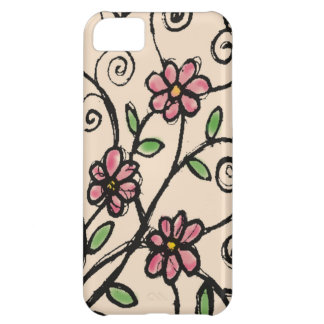 Rustic Floral Pattern iPhone 5C Cover