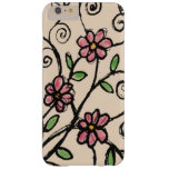 Rustic Floral Pattern Barely There iPhone 6 Plus Case