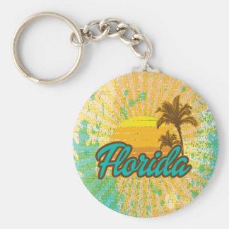 Rustic, Florida Keychain