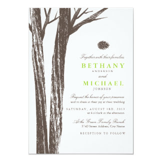 Forest Wedding Invitations & Announcements | Zazzle