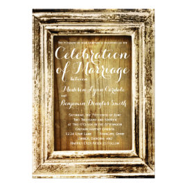 Rustic Barn Wood Wedding Invitations Rustic Country Wedding