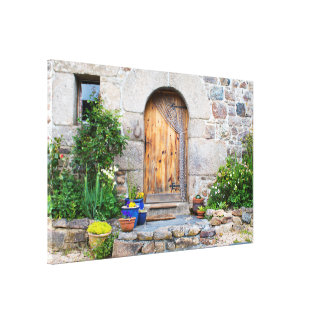 Rustic French Gite in Brittany France Canvas