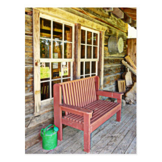 Rustic Front Porch Scene Post Cards
