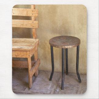 Rustic furniture mouse pad