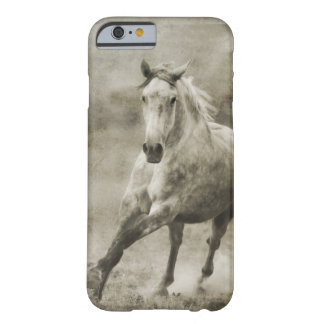 Rustic Galloping Andalusian Horse Barely There iPhone 6 Case