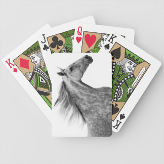 Rustic Galloping Andalusian Horse Bicycle Playing Cards