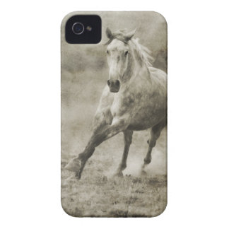 Rustic Galloping Andalusian Horse Case-Mate iPhone 4 Case