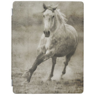 Rustic Galloping Andalusian Horse iPad Smart Cover