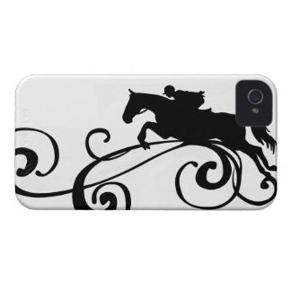 Rustic Galloping Andalusian Horse iPhone 4 Case