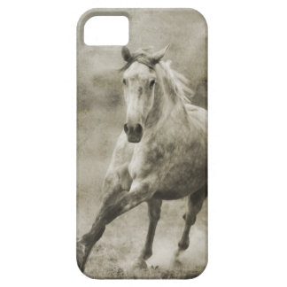 Rustic Galloping Andalusian Horse iPhone SE/5/5s Case