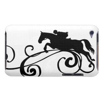 Rustic Galloping Andalusian Horse iPod Touch Case