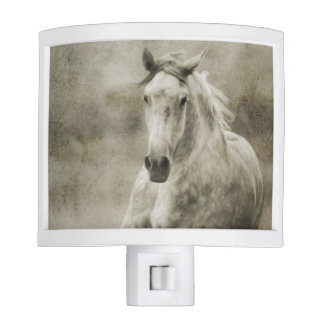 Rustic Galloping Andalusian Horse Night Light