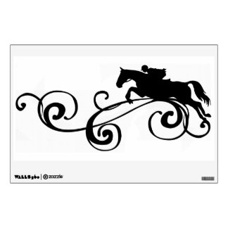 Rustic Galloping Andalusian Horse Wall Graphic