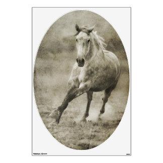 Rustic Galloping Andalusian Horse Wall Skins