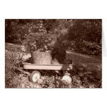 Rustic Garden Lifescape Greeting Card