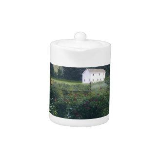 Rustic Garden Teapot