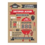 Rustic Gradation BBQ Invitation II
