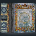 "Rustic Gray Blue Celtic Ancient Tome 3 Ring Binder<br><div class=""desc"">Step into the past with this whimsical ancient-tome-themed novelty binder,  rich with faux-weathered-leather detail,  bejeweled luster,  and old-world allure. Makes a fantastic one-of-a-kind gift. Shop the rest of our Ancient Tome themed binders and notebooks for a unique niche of products you don't want to miss!</div>"