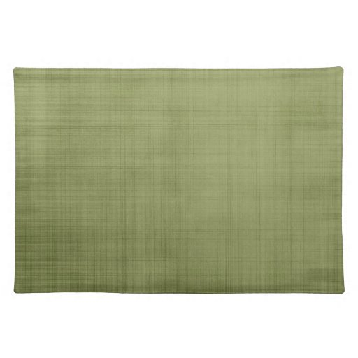 Rustic Green Placemat
