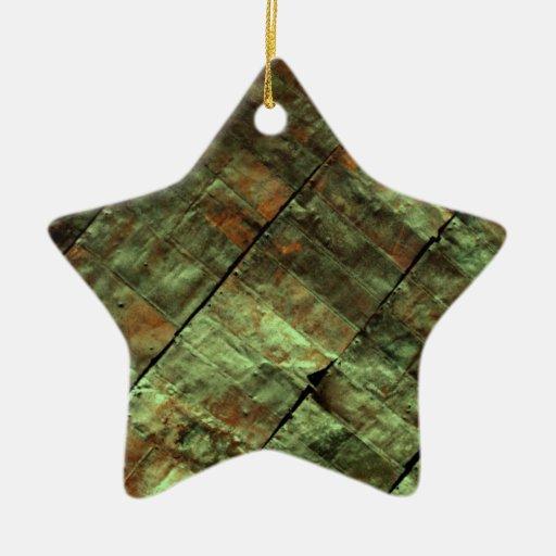 Best metal christmas tree ornaments rustic green
