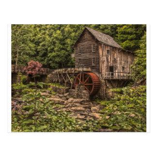 Rustic Grist Mill Postcard