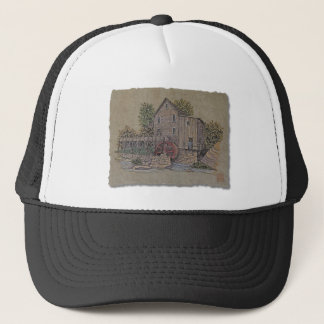 Rustic Gristmill Trucker Hat