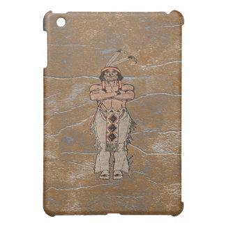 Rustic Grunge Big Chief Indian Speck iPad Case