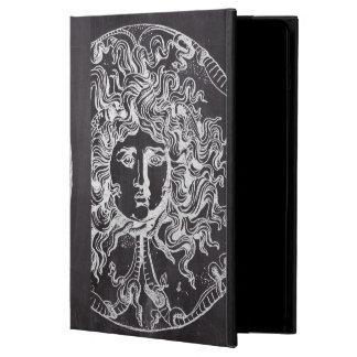rustic grunge chalkboard art vintage medusa iPad air covers