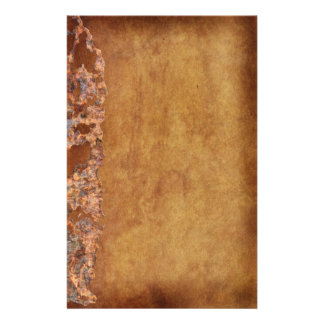 Rustic Grunge Corroded Parchment Gift Stationery