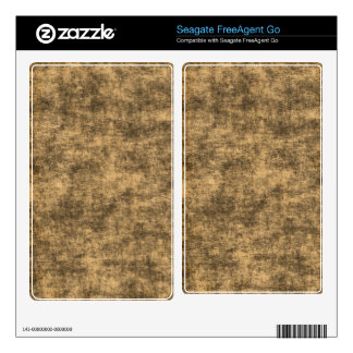 Rustic Grunge Parchment Seagate Hard Drive Skin Skin For The FreeAgent Go