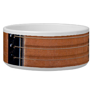 Rustic guitar bowl
