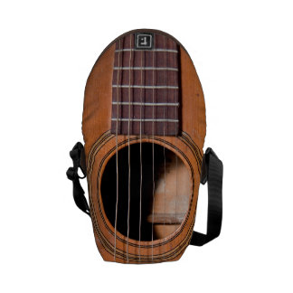 Rustic guitar courier bag