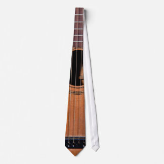 Rustic guitar neck tie
